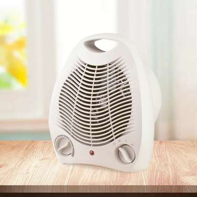1500W Portable Electric Space Heater Fan Forced Adjustable Thermostat 3 Settings image 1