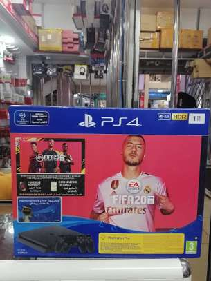 Sony PlayStation 4 Slim, 1 TB, 2 Controllers, With FIFA 20 image 3