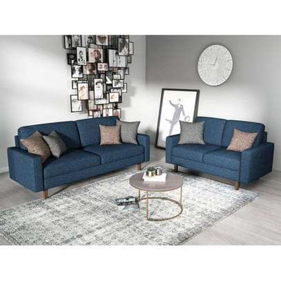 Five seater arm sofa image 1
