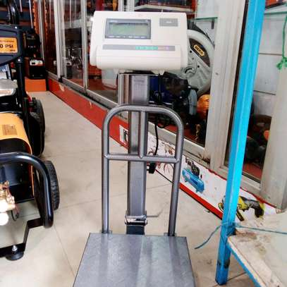 A12 100kgs gas weighing scale with guard image 1