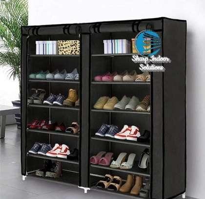 2 Column Portable Shoe Rack- Best Quuality image 3