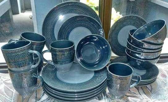 24 pieces Ceramic Dinner set image 4