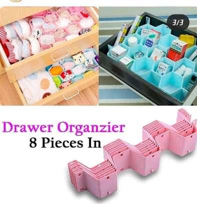 8 strap drawer organizer image 1