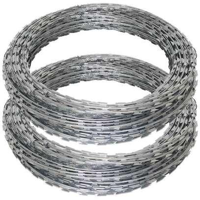 Galvanized razor wire 450mm image 2
