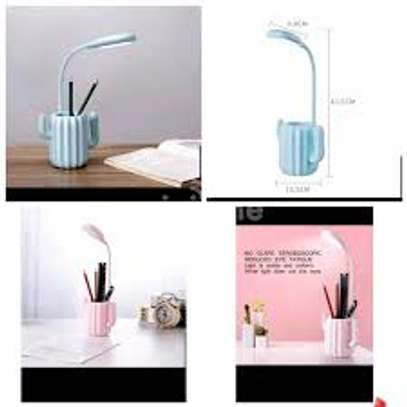 Cactus design rechargeable night table lamp image 2