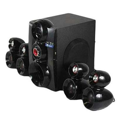 Sayona Subwoofer 4.1 SHT1148BT Bluetooth 16000W PMPO image 1
