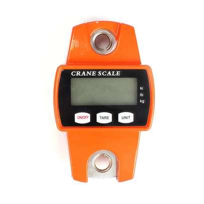 300kg/600lb LCD Digital Crane Scale Hook Hanging Weighing Heavy Duty UK image 4
