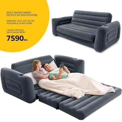 3 seater pullout sofa image 1