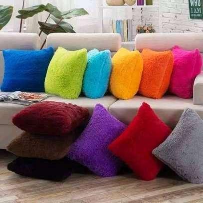Fluffy Throw Pillows image 1
