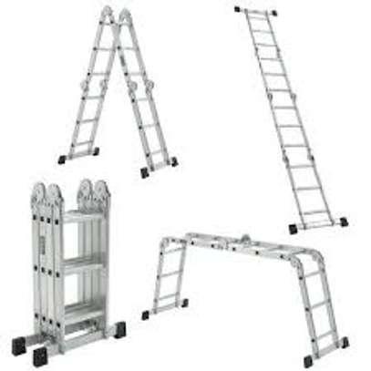 galvanized Aluminium Folding Ladder suppliers in kenya image 1