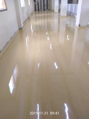 Fossilcote Floor installation for Ajabu Flour Mill Co. image 13