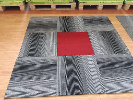 Grey and Dark Grey carpet Tiles image 1
