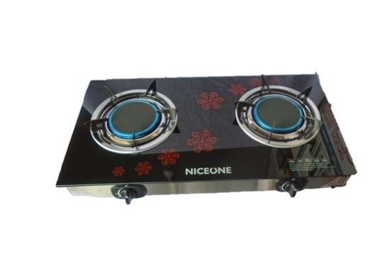 2 Burner - Glass top - Black image 2