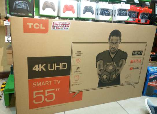 TCL 55 INCH SMART 4K TV brand new image 2
