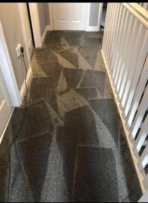Charcoal grey wall to wall carpets image 3