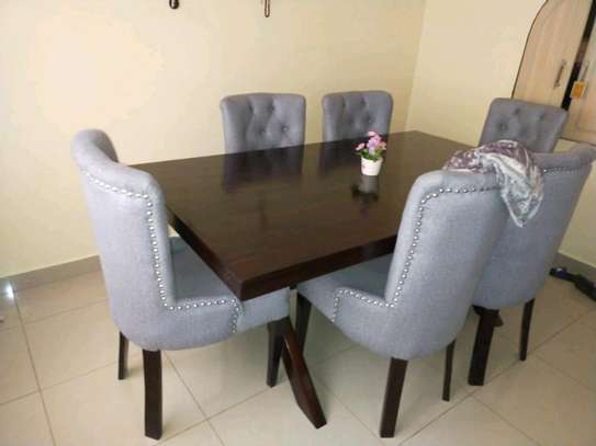 dining set/modern dining set/dining tables/six seater dining y image 4