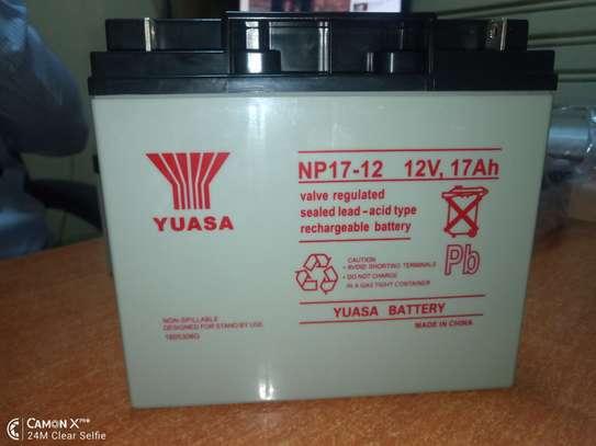 yuasa battery in kenya 12v 17 AH IN KENYA image 2