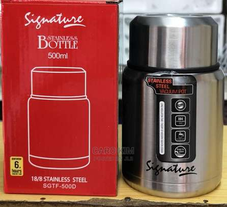 Stainless Steel Food Flask image 2