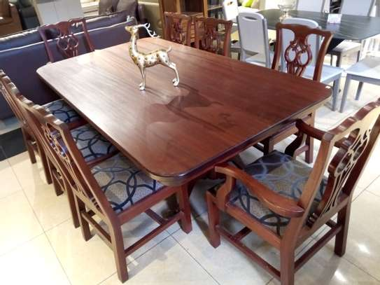 8Seater Wooden Dining table image 3