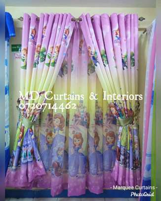 Cartoon themed curtains image 2