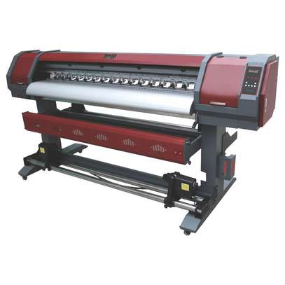 1.8m Eco solvent DX5 large format printer. image 1