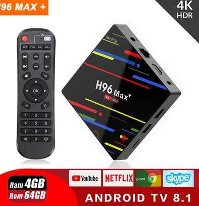 H96 Max+ Android TV Box 4GB Ram 64GB Rom image 1