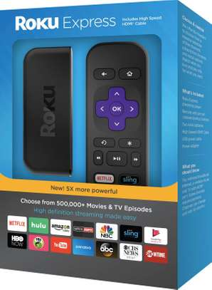 Brand New ROKU Express - 5X more powerful HD Streaming (2017) image 2