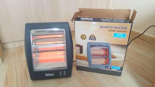 Ohms Electric Quartz Home Heater - Grey