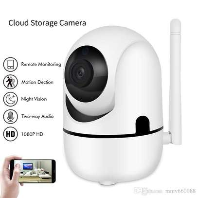 Nanny camera -Cloud Storage Intelligent IP Camera- White image 2