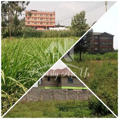 0.05 ha commercial land for sale in Kikuyu Town image 1