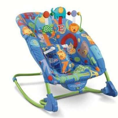 Ibaby Baby Comfort Bouncer Rocker With soothing music and toys-multicolor image 2
