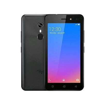 Itel A33 16GB+1GB,5, (Dual Sim), Fingerprint, Face Unlock - Black image 1