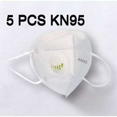 Mask Care KN95 Reusable With Respirator 5pcs, 5 Layers Of Filtering, Anti Virus & Bacteria, Anti-dust