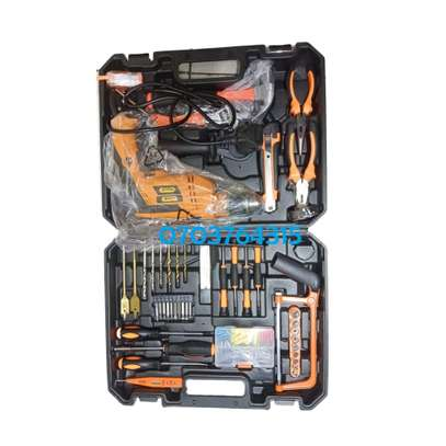 116PIECES DRILL SET WITH 750WATTS DRILL image 1