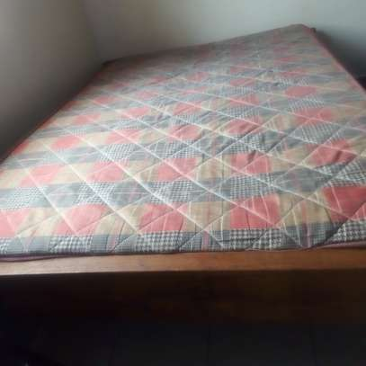 Bed 5 by 6 and Mattress high density 5 by 6 image 2