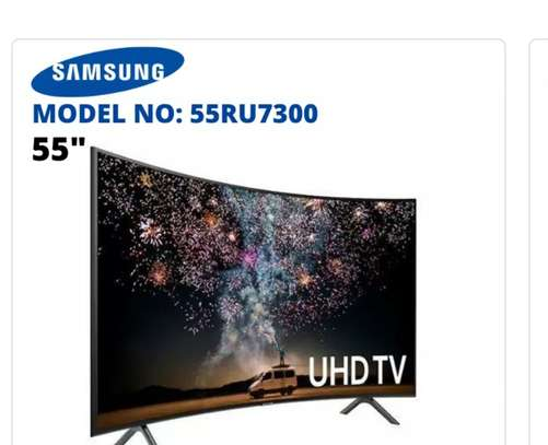 Samsung 55inches (Ru7300)Curved smart Uhd 4k tv image 1