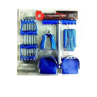 4 Way Family Exercise Set - Blue