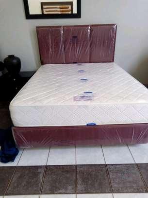 Devan,Head board and spring orthopedic mattresses (complete set)