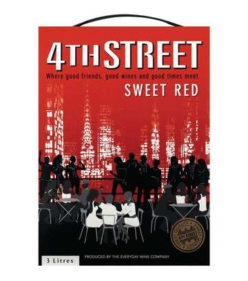 4th Street Red Sweet Cask Wine image 1