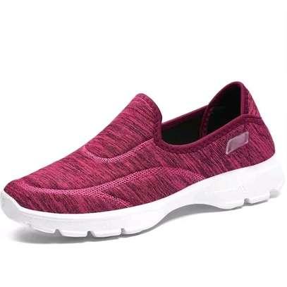 Casual Pink ladies sneakers image 2