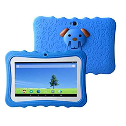 """Android Kids Tablet - 7"""" - 2.0MP Rear - 1.3MP Front - 1GB RAM - 8GB - Android - Wi-Fi - Blue"""