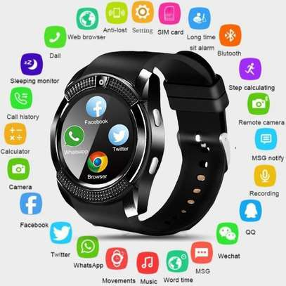 V8 Smartwatch Touch Screen image 1