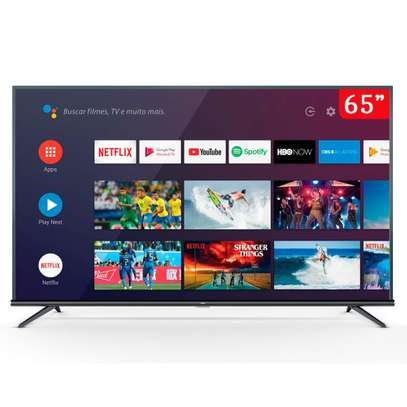 65 inch TCL Smart UHD 4K Android AI HDR LED TV - 65P8M - Metallic Design