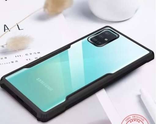 Ipaky Drop-Resistant Hybrid Clear Case for  Samsung A71 A51 A31 image 3