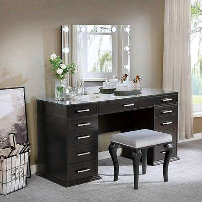 Dressing table with Mirror/dressing Mirror image 1