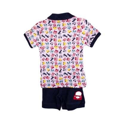 2 PC boys set (polo t-shirt and shorts) image 2