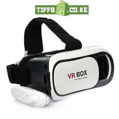 VR Box VR02  With Bluetooth Gamepad Remote Controller