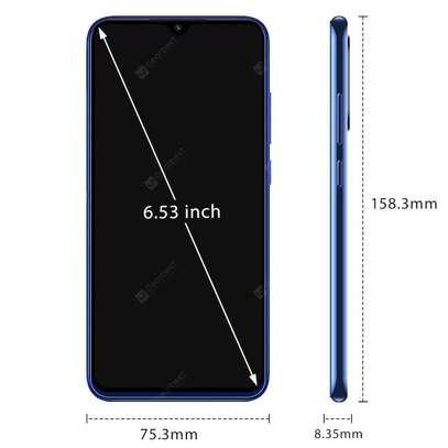 XIAOMI Redmi Note 8 Black, 6.3 FHD, 4GB RAM - 64GB, Quad rear Camera, 4000mAh, Android 10, MiUI 11,Dual Nano Sim and Sd Card image 2