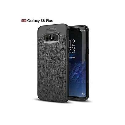 Generic Samsung Galaxy S8+ Luxury Auto Focus Phone Back Cover - Black image 1