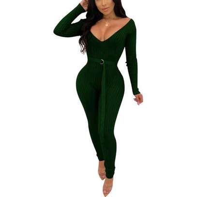 Bodycon sweater jumpsuit image 3